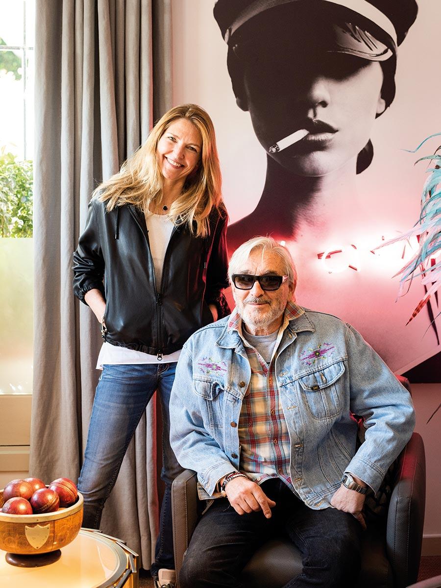 Jean Pierre y Chloe Martel
