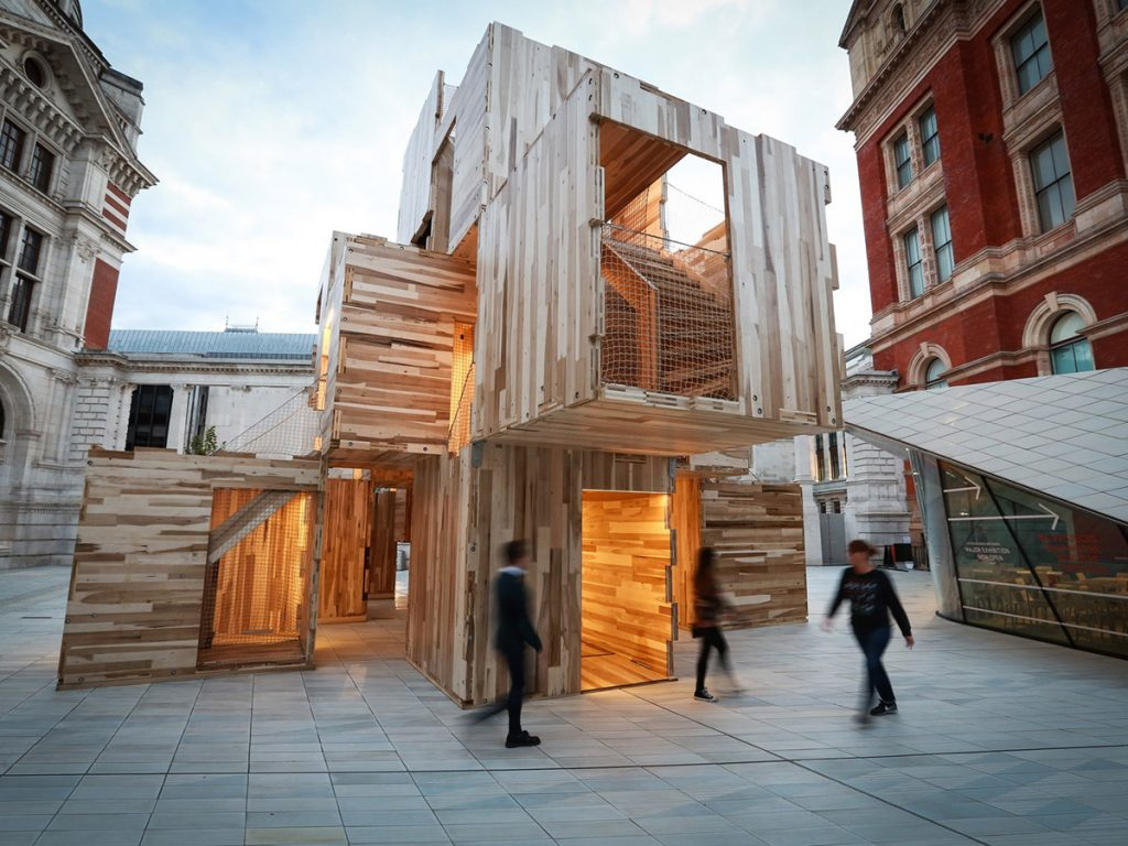 MultiPly by Waugh Thistleton Architects and Arup.