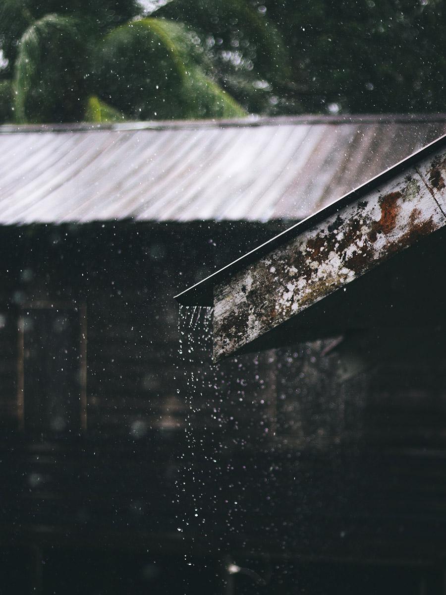 El agua de lluvia puede aprovecharse para autoconsumo.