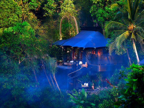 Capella Ubud está integrado en la naturaleza balinesa