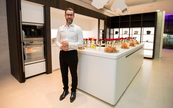 Quique Dacosta and his professional kitchen design for PORCELANOSA Group