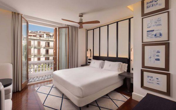 Una de las habitaciones de Gran Hotel Montesol
