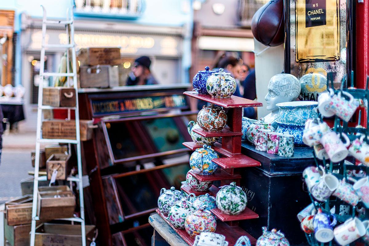The best Flea Markets in London