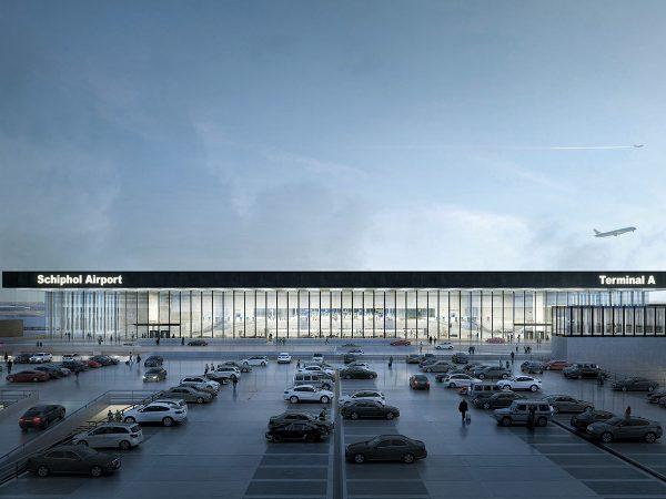 airport Schiphol Carlos Lamela