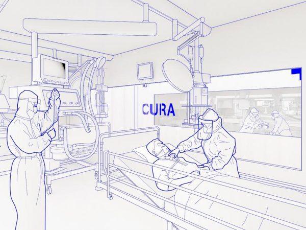 Modular ICU CURA. Picture: Max Tomasinelli.