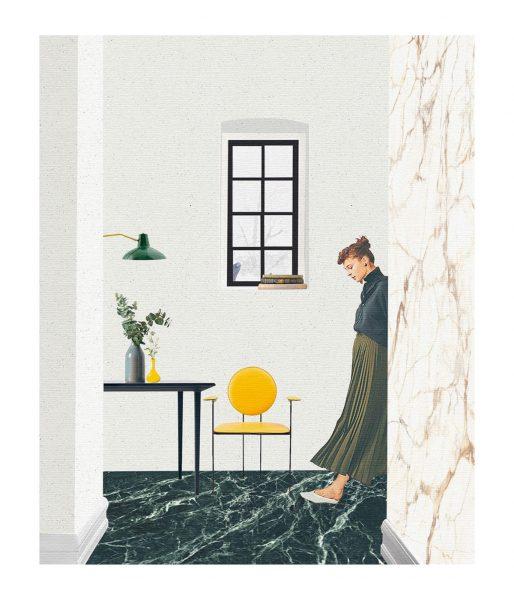 Ilustración realizada por Klaudia Radlinska