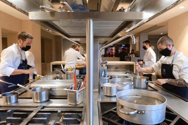 El restaurante L'Escaleta cuenta con dos estrellas Michelin