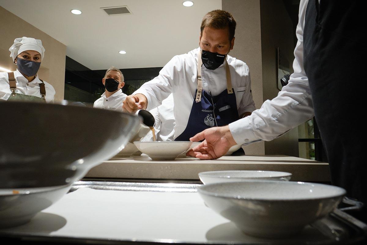Por el restaurante L'Escaleta han pasado chefs de elevado prestigio