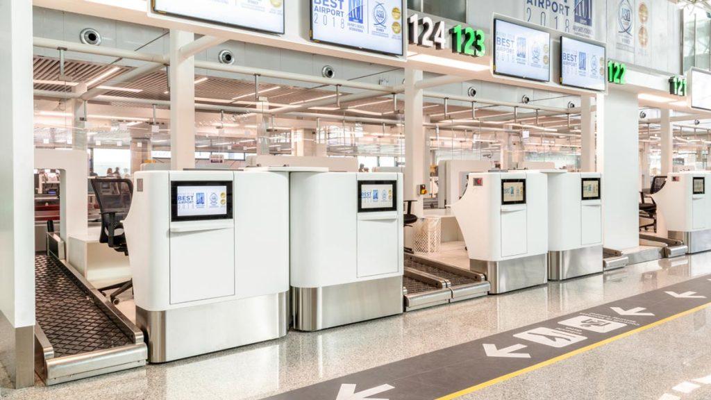 Aeropuerto Roma, Krion-Porcelanosa