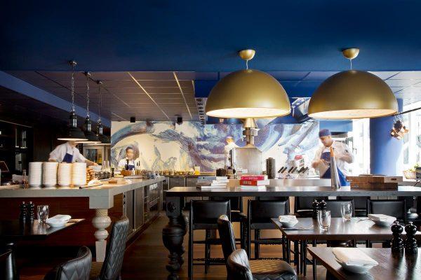 El comedor principal del hotel Andaz Ámsterdam Prinsengracht diseñado por Marcel Wanders