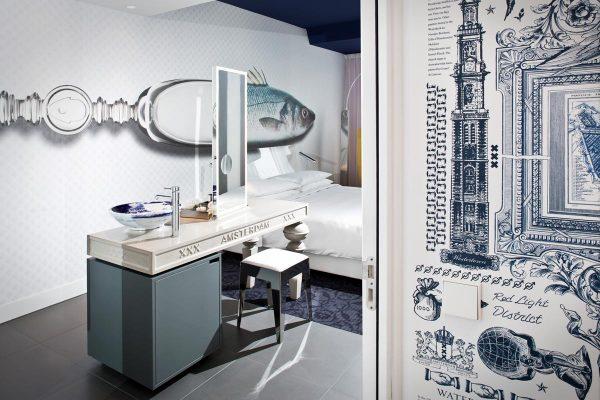 Hotel Andaz Amsterdam Prinsengracht diseñado por Marcel Wanders