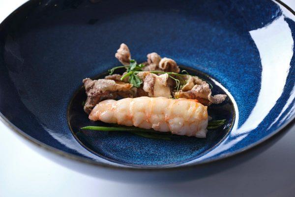 Plato del cocinero Kiko Moya
