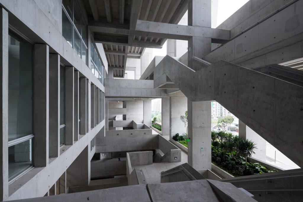 La nueva sede de Arquitectura y Tecnología de Lima (UTEC)