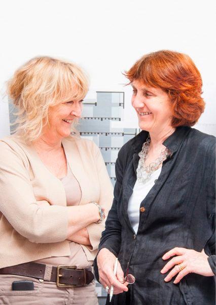 Yvonne Farrell y Shelley McNamara, arquitectas