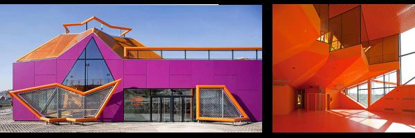 Exterior de la Casa de la Juventud en Vaciamadrid