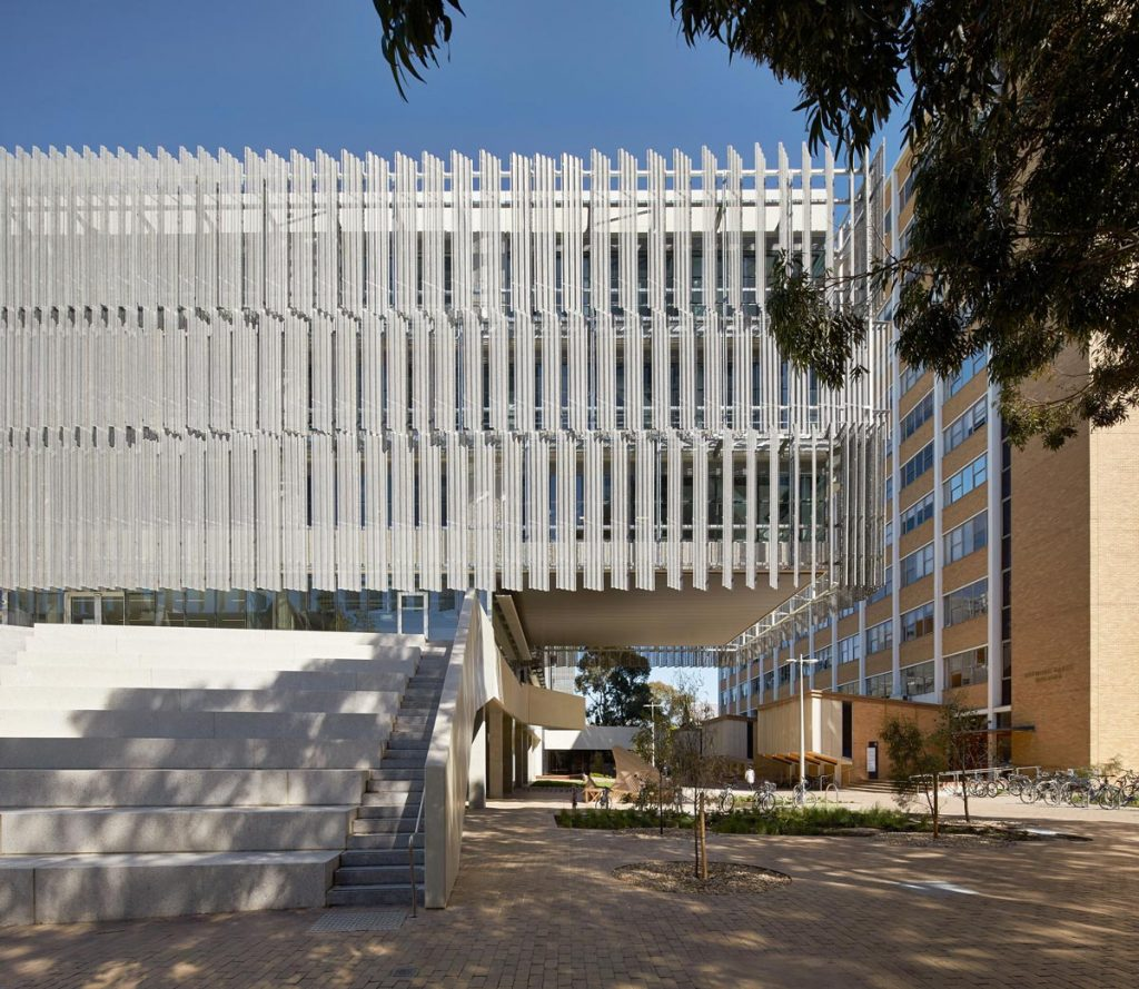 Melbourne School of Design, Universidad de Melbourne. Foto cedida por NADAAA Studio.