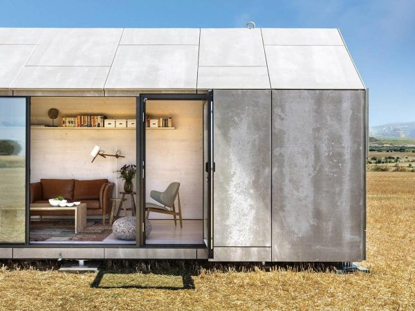 Cortesía de Ábatón. Proyecto estudio ÁBATON.Casa Transportable – ÁPH80