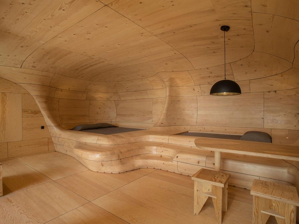 cuevas de madera