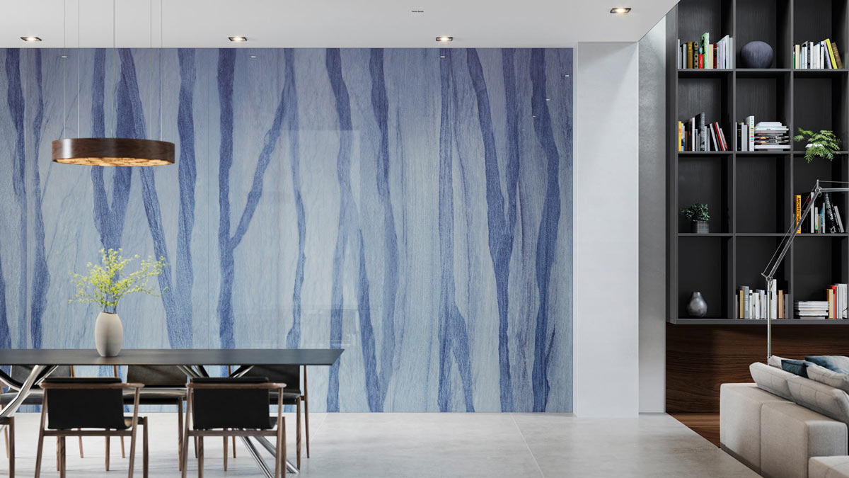 XTone-Macauba-Blue,-la-cerámica-de-gran-formato-inspirada-en-el-márnol-de-Urbatek