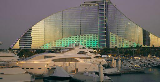 Una de las marinas de Dubái.