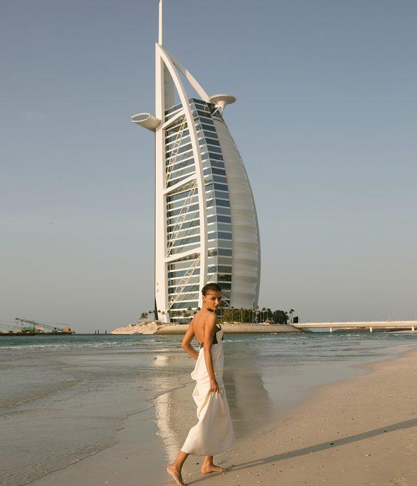 Playa privada del hotel Burj Al Arab.