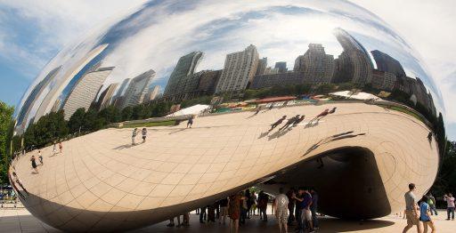 The Bean, la escultura más famosa de Chicago (00013/00011)