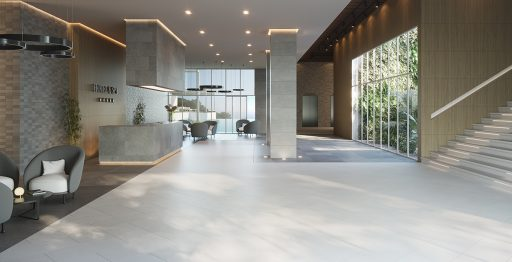 Render Hall Hotel Venis Projects Porcelanosa