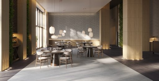 Render Restaurante Hotel Venis Projects Porcelanosa
