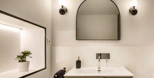 Baño Oficinas Herrera y Asociados Porcelanosa