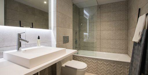Baño Residencial Marva 3. Imagenes Angel Juste Kronos Homes Porcelanosa